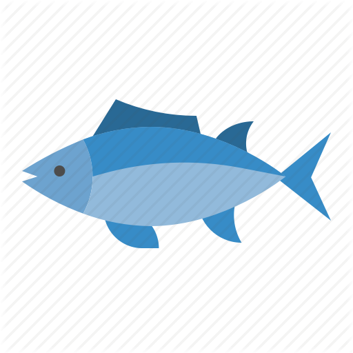 Aquatic Animal, Fish, Ocean, Sea, Tuna Icon