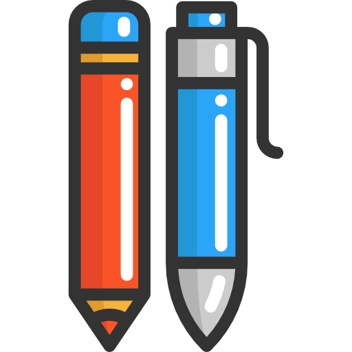 Office Material, Edit Tools, Pencil Icon