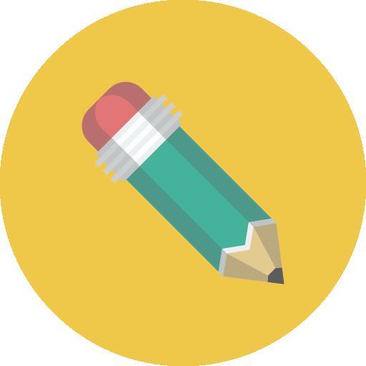 Pencil Icon Flat Iconset Flat