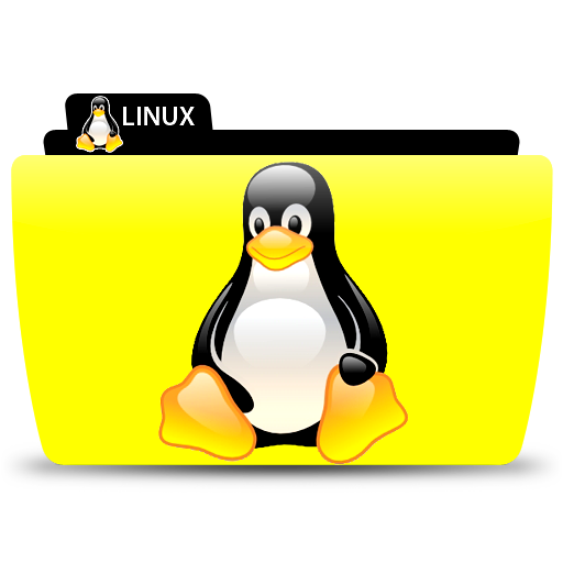 Linux Penguin, Folder, Icon Free Of Colorflow Icons