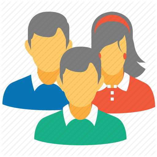 Conference, Customers, People, Social, Staff, Team, Users Icon