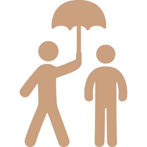 Two People Under An Umbrella Flaticon Breathe