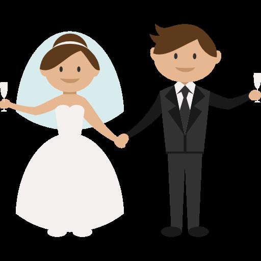 Bride, People, Wedding Couple, Groom, Romantic Icon