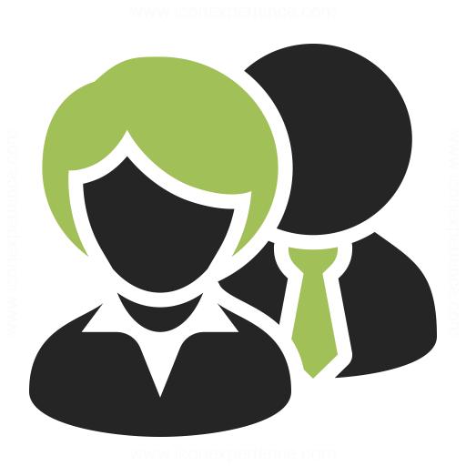 Businesspeople Icon Iconexperience