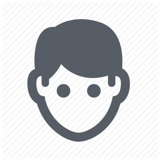 Head, Male, Man, People Icon