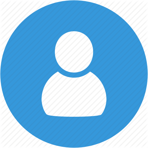 People Icon Blue Png Png Image