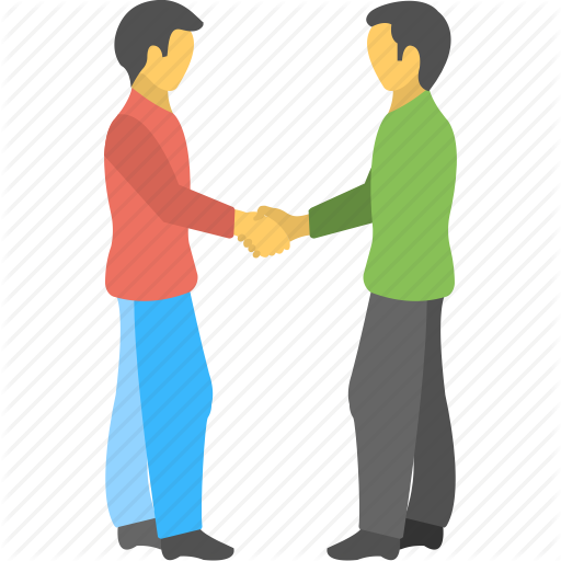 Buddies, Fellowship, Friends, Greeting, Shaking Hands Icon