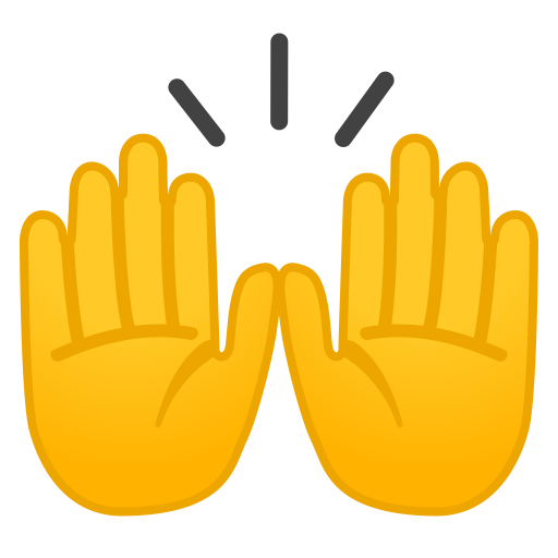 Raising Hands Icon Noto Emoji People Bodyparts Iconset Google