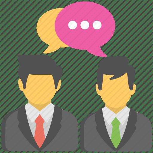 Icon Talking People Three