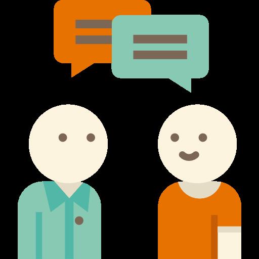 People, Speech Bubble, Chatting, Conversation, Speaking, Men