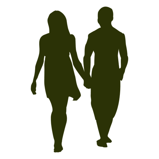People Walking Silhouette Png Images In Collection