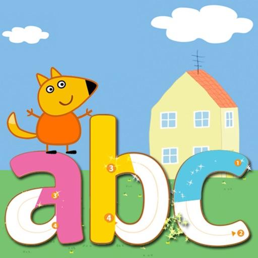 Alphabet Tracing Abc For Peppa Pig Theme