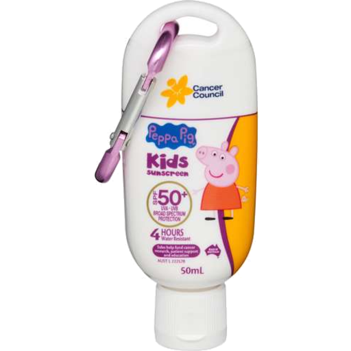 Cancer Council Sunscreen Peppa Pig