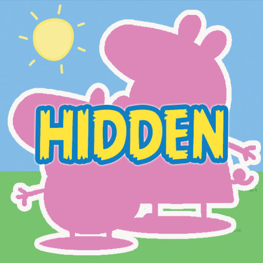 Hidden Objects For Peppa Pig Family