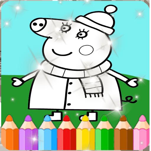 Paint Peppa Pig Apk