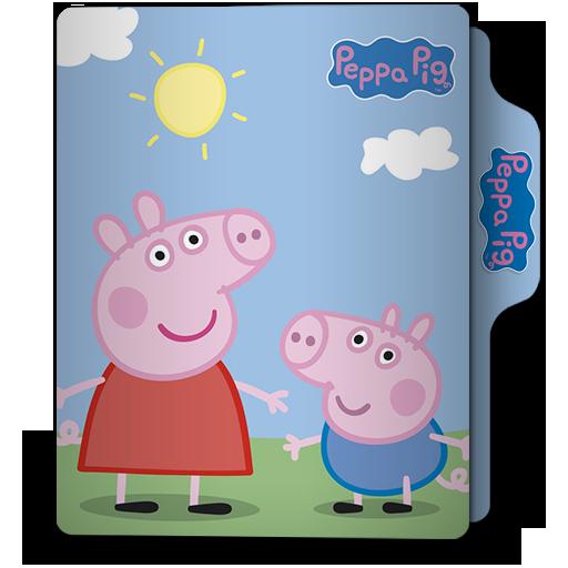Peppa Pig Folder Icon