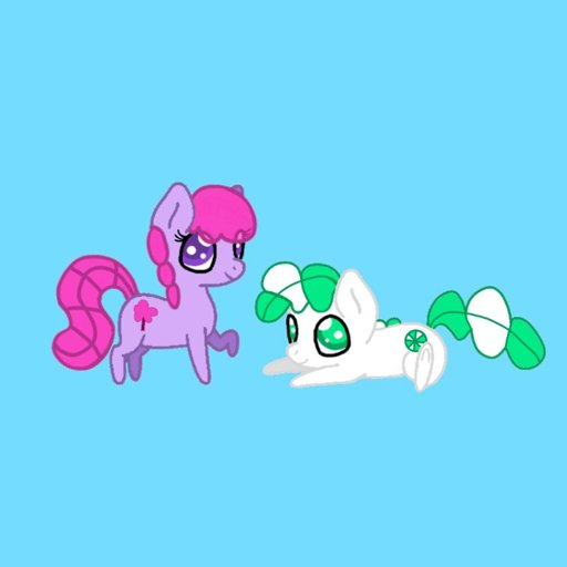 Candydrop And Peppermint Icon Equestria Amino