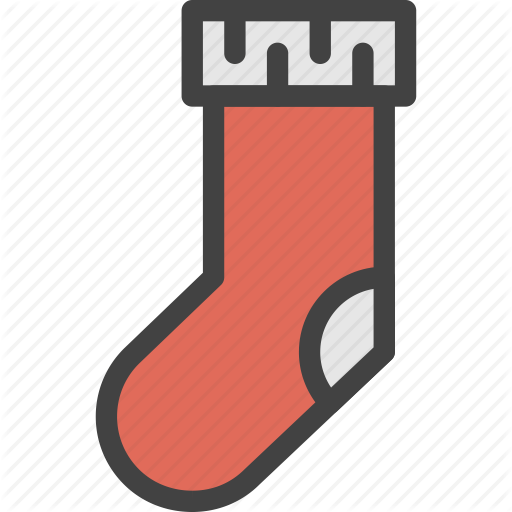 Christmas, Decoration, Gift, Santa, Socks, Surprise, Xmas Icon