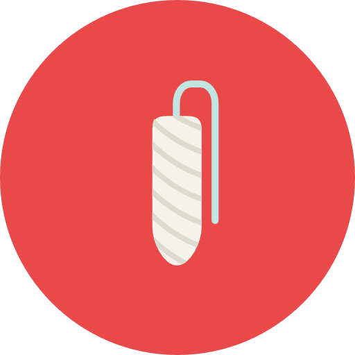 Period, Hygiene, Menstruation, Healthcare And Medical, Tampon Icon