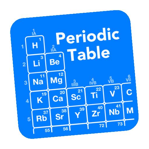Periodic Table Chemistry Mac Icon