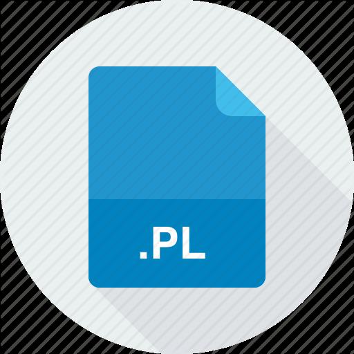 Perl Script, Pl Icon