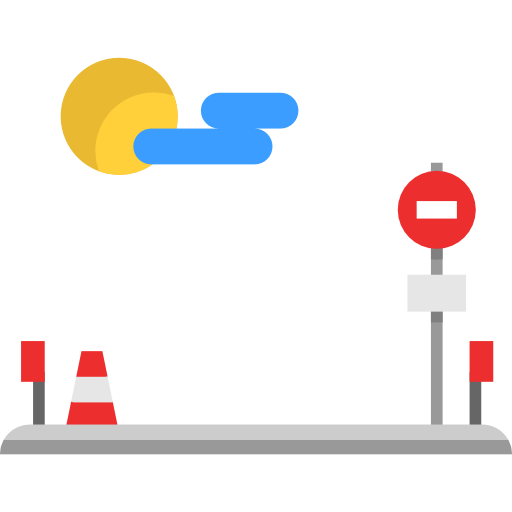 Traffic, Control, Maps And Flags, Permission, Prohibition Icon