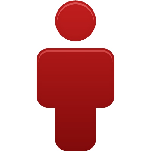 User Red Icon Pretty Office Iconset Custom Icon Design