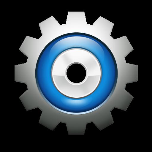 Technical Graphic Symbol Types Settings App, Service Logo