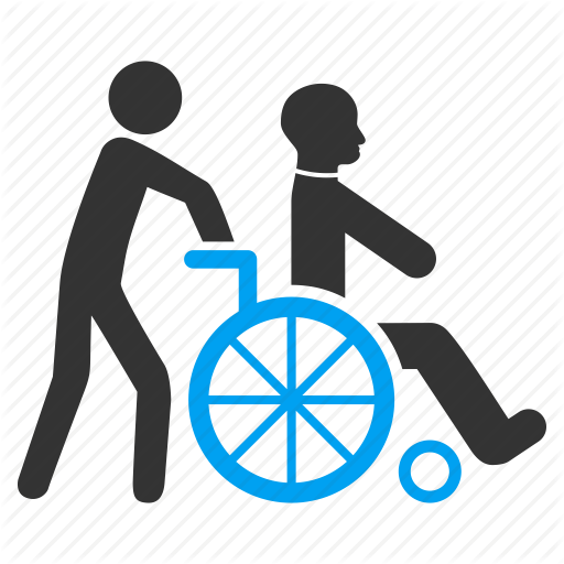 Download Person In Wheelchair Icon Clipart Disability Wheelchair