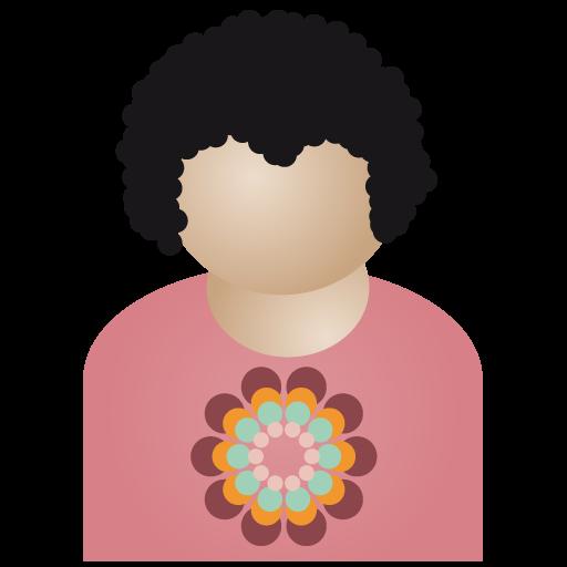 Free Afro Man Flower Icons Tag Icon Ninja