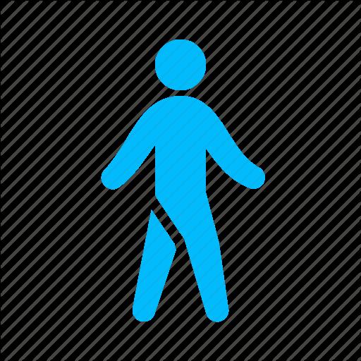 Human, Moving, Walk, Walking Icon