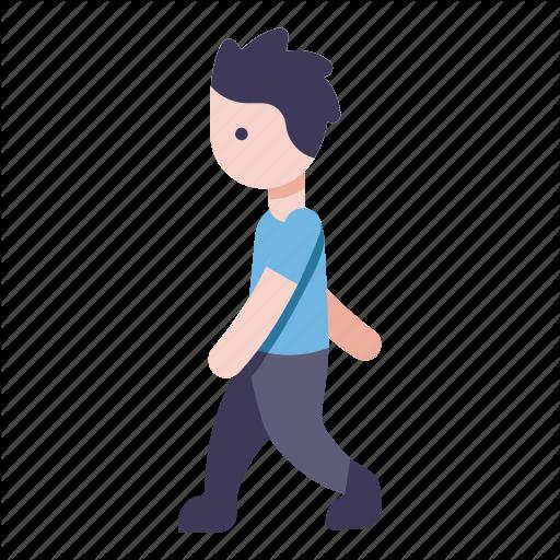 Man, Men, People, Person, Walk Icon