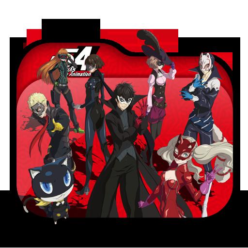 Persona The Animation Folder Icon