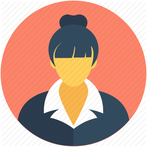 Employee, Female, Female Worker, Personal Assistant, Secretary Icon