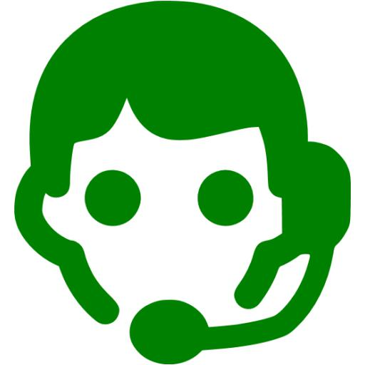 Green Assistant Icon