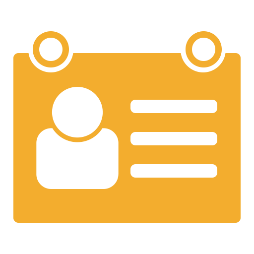 Id Card, Miscellaneous, Identification, Security Check Icon