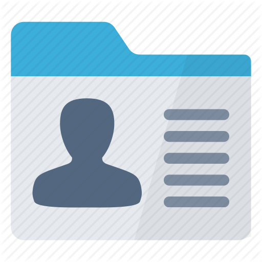 Client, Information, Personal, Record, Tab, User Icon