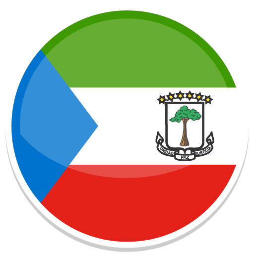 Equatorial Guinea Icon Round World Flags Iconset Custom Icon