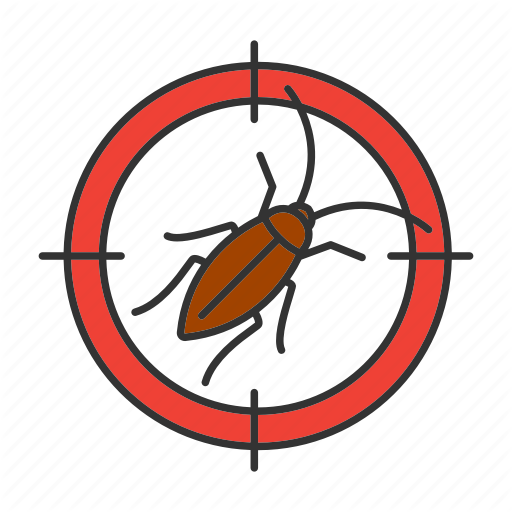 Cockroach, Control, Insect, Pest, Roach, Search, Target Icon