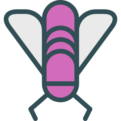Fly Flat Icon