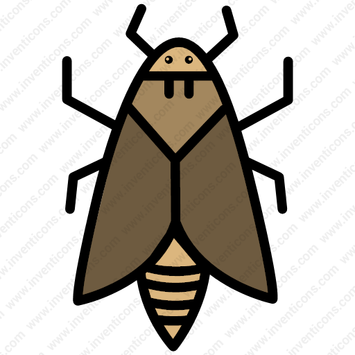 Download Moth,bug,insect,moth,nature Icon Inventicons