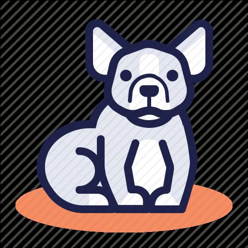 Bulldog, Dog, French Bulldog, Friendly, Pet Icon