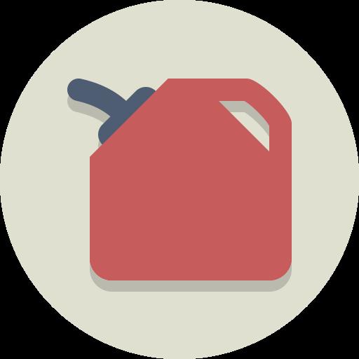 Gas, Oil, Gasoline, Fuel, Petrol Icon