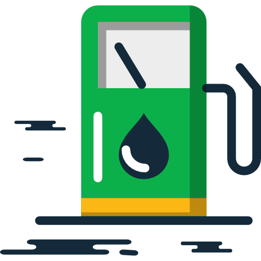 Gas Station, Gasoline, Energy, Petrol, Fuel Icon