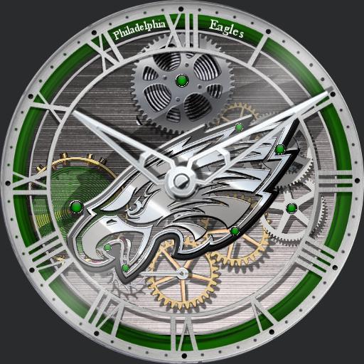 Philadelphia Eagles Skeleton Tourbillon For Watch Urbane
