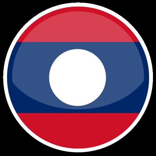 Laos Icon Round World Flags Iconset Custom Icon Design