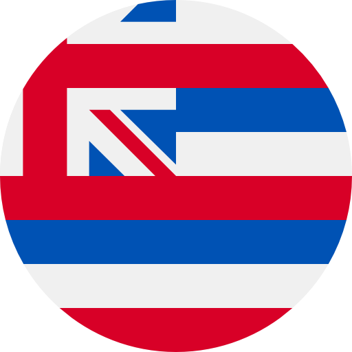 Nation, State, Flags, Country, Hawaii, World, Flag Icon