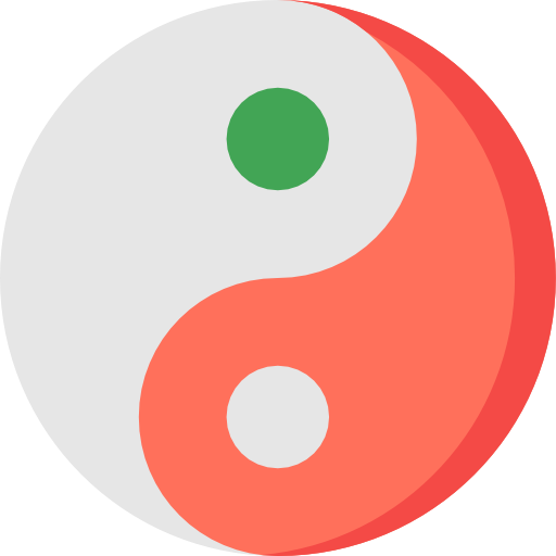 Religion, Balance, Philosophy, Signs, Yin Yang, Taoism, Cultures Icon