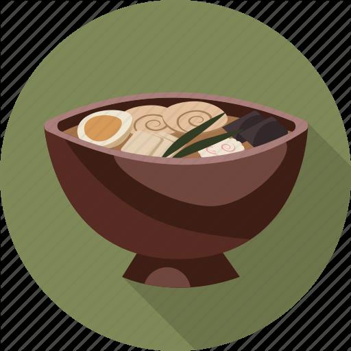 Asian, Food, Ramen Icon