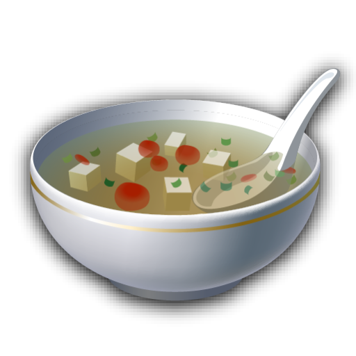 Recipe, Soup Icon
